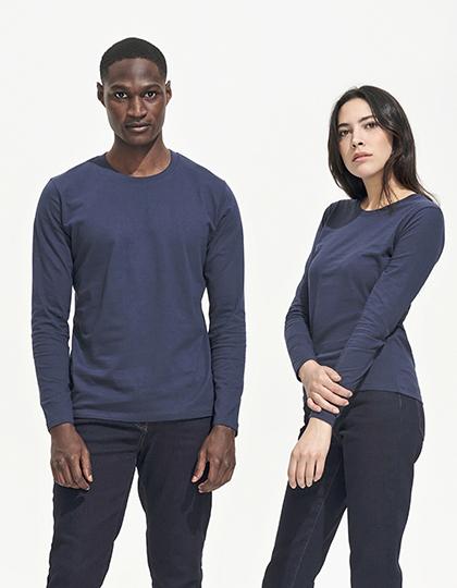 Men`s Long-Sleeve T-Shirt Imperial