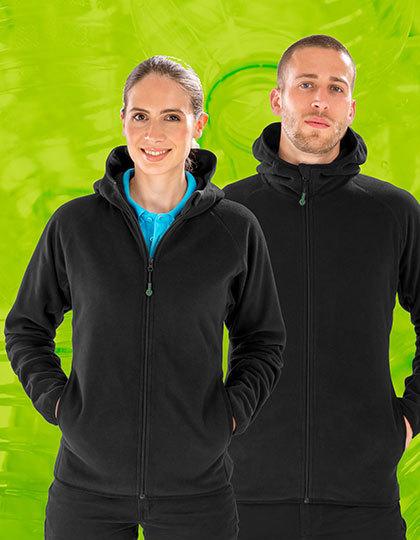 Hooded Recycled Microfleece Jacket